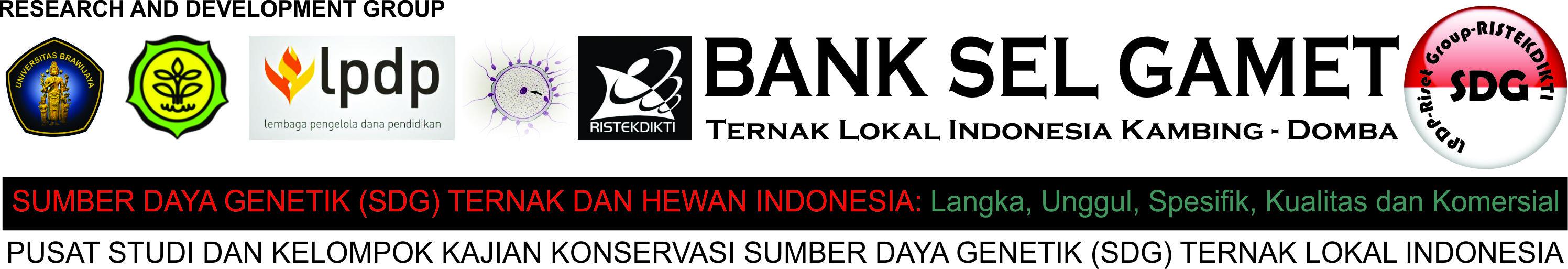 Bank Sel Gamet Ternak Lokal Indonesia Kambing Domba Logo