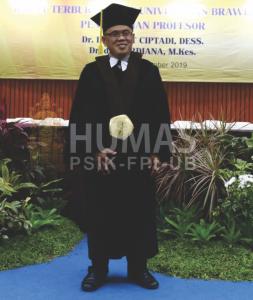 Pengukuhan Prof. Gatot Ciptadi Tambah Jumlah Guru Besar di Fapet UB